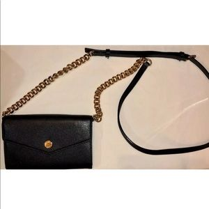 Michael Kors small wallet with detachable strap